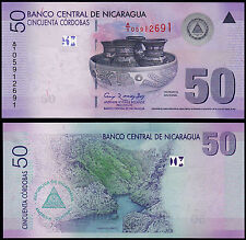 NICARAGUA 50 CORDOBAS (P203) N. D. (2009) UNC