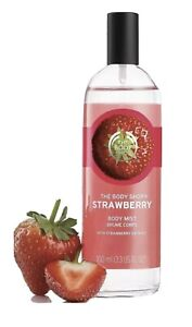 BN The Body Shop Strawberry Body Mist 100ml - Animal Cruelty Free