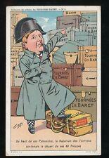 Comic France NAPOLEON by Tournes Baret #9 c1902 u/b PPC