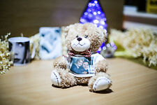 Personalised Gift teddy bear print your own picture valentines idea for her