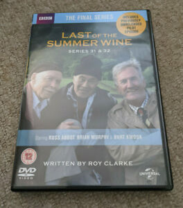 LAST OF THE SUMMER WINE Series 31 Series 32 DVD Box Set - FINAL SERIES