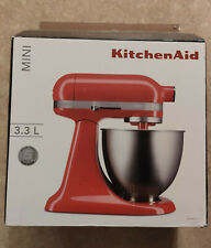 Robot Pâtissier KITCHENAID Mini Artisan 5KSM3311XEHT 3,3L - Rouge - NEUF
