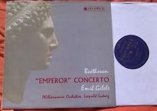 33CX 1490 ED1 Beethoven Piano Concerto #5 Emperor GILELS LUDWIG EX/EX