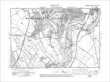 Whitchurch (S), Tufton, Hurstbourne Priors, Old Map Hampshire 1911: 24NE