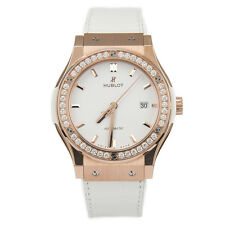 Hublot Classic Fusion Rose Gold White Diamonds Automatic 542.OE.2080.LR.1204 New