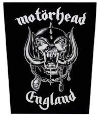 MOTORHEAD - ENGLAND - BACK PATCH - BRAND NEW - MUSIC BAND 0808