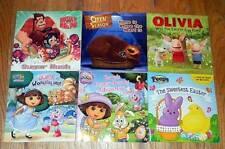 LOT of 42 CHILDREN Picture BOOKS Disney DORA Scooby Doo STAR WARS Barbie TROLLS