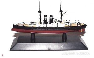 MIKASA battleship War ship Japan 1:1100 Ixo Eaglemoss diecast