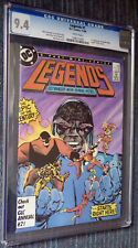 Legends #1 CGC 9.4 White Pages - 1st appearance of Amanda Waller! John Byrne!