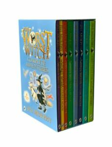 The Worst Witch Complete Adventure 8 Books Collection Set by Jill Murphy