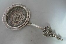 Antique Dutch Silver Sugar Sifter Spoon 16cm x 8.2cm 46g A602817