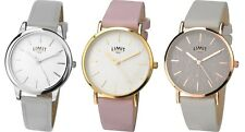 Limit Classic Ladies Watch with Grey or Pink Strap
