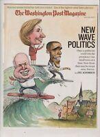 Washington Post Barack Obama Hillary Clinton May 20, 2007 041520nonrh