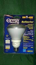 Satco S6213 $26.00 6ct EFR30 15w=60w Compact Fluorescent Lamps Energy Star