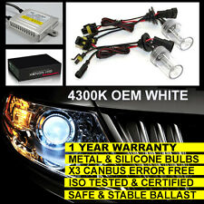 FOR AUDI A2 A3 A4 TT S3 HEADLIGHT H7 CANBUS XENON HID CONVERSION KIT 4300K WHITE