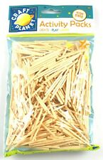 500 x Natural Wooden Matchsticks - Ideal For Model Making and Childrens Crafts