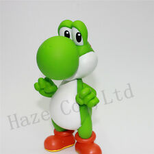 """New Super Mario YOSHI Green Action Figure Toy 5"""" kid's gift"""