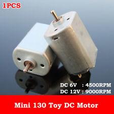 DC 3V 5V 6V 12V 9000RPM Metal Brush Mini 130 DC Motor DIY Hobby Toy Car Model