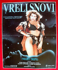NIGHT TRIPS 1989 TORI WELLES PORCHE LYNN ANDREW BLAKE UNIQUE EXYU MOVIE POSTER