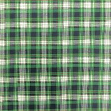 """Madras Plaid Fabric (Style 15989) 100% Cotton 44/45"""" Wide Sold By The Yard"""