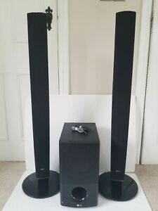 LG SH54PH Home Cinema Theatre Surround Sound Standing Speaker System & Subwoofer