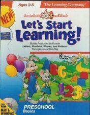 Frühes Lernen für Kinder als Software
