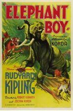 ELEPHANT BOY 1937 STARRING SABU  ON DVD  UNCUT !!!
