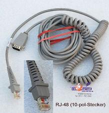 DATALOGIC D130 D110 SCANNER KABEL CAB382 RJ-48 ->SERIEL