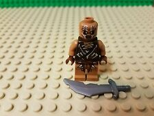 Lego Lotr Gundabad Orc Minifigure With Sword Brand New From The Hobbit / 79017