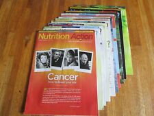"""Nutrition Action"" Health Letter magazine 10 issues 2012 VGC No Advertising"