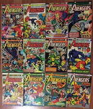 Avengers 131-142 complete 1975 set