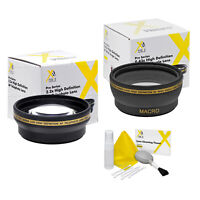 43mm XIT Pro HD 2.2x Telephoto+0.43x Wide Angle HD Lens for Canon EOS M
