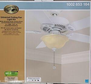 Hampton Bay-Universal Ceiling Fan Light Kit
