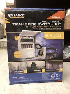 New Reliance Controls 3006HDK 6-circuit Generator Power Transfer Switch Kit!!!!