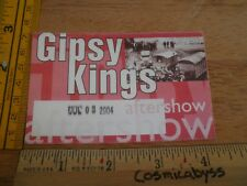 Gipsy Kings 2004 concert backstage fabric sticker after show Las Vegas ORIGINAL