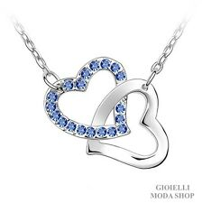 Collana Donna con Ciondolo Cuore Crystal Swarovski Elements - Ga16