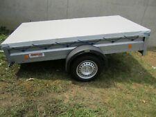 Anhängerplane Anhängerflachplane auf Maß gefertigt  680gr//m²  bis 280 cm Länge