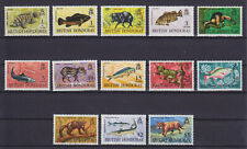 BRITISH HONDURAS 1968, ANIMALS, FISHES, MNH, SG 256-267