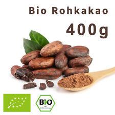 Bio Rohkakao 10/12 aus Peru, Fett reduziert - 400g | Roh Kakaopulver Bio