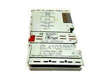 Beckhoff EL4102 2 Channel Analog Output Module 16 Bit 0-10V