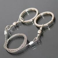 Stainless Steel Wire Saw Camping Emergency Pocket Chain Saw Survival Gear Tools