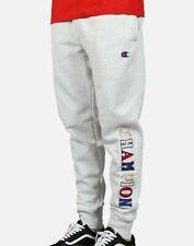 Champion Men's Reverse Weave Jogger Pants Sweatpants Old English Logo Small Size