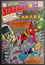 BRAVE+BOLD #61 1965 SOLID  CLEAN VG ORIGINS BLACK CANARY+STARMAN THE MIST