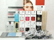 CND Gel INTRO Pack Color Kit of 6 Colors & Base Top Coat / Intro Pack System