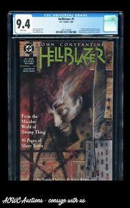 DC Comics - Hellblazer #1 (1st Solo Title 1st app. Papa Midnite) - CGC 9.4