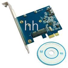 Convertidor de tarjeta de expansión para la placa de adaptador PCI-E mSATA 3 SSD y SATA 3 III III HDD