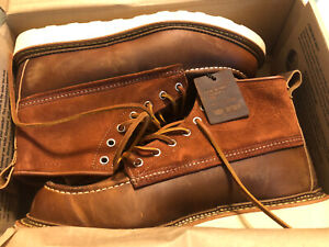 New In Box!  Red Wing x Todd Snyder 4314 Moc Toe Boots Copper Size 9.5D