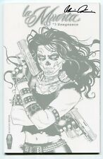 La Muerta Vengeance #1 Incentive Variant Cover by Richard Ortiz Signed by Pulido