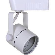 Direct-Lighting 50010 White MR16 Cylinder Low Voltage Track Lighting Fixture