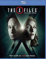 The X-Files: The Event Series (Blu-ray Disc, 2016, 2-Disc Set) NEW